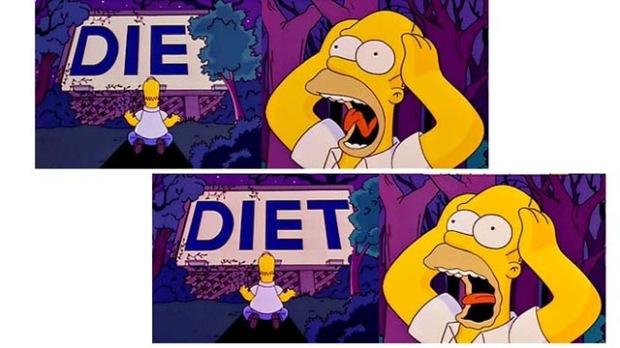 Image result for homer diet